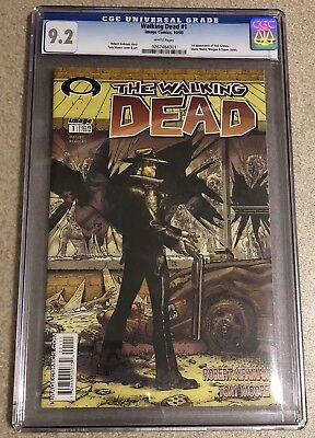 The Walking Dead #1 Cgc 9.2