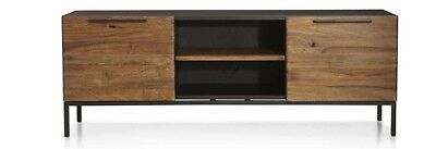 """Rigby 55"""" Small Media Console With Base Crate And Barrel New"""
