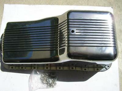 Small Block Ford Windsor Finned Sump Alloy Polished 289 302
