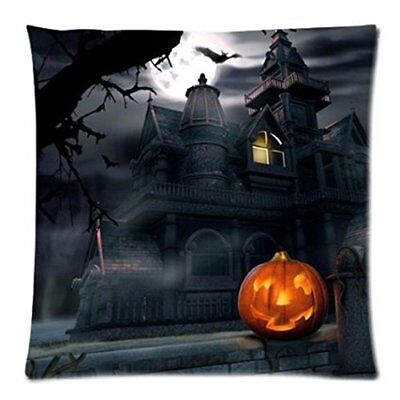 Funic Pillow Case, Halloween Throw Pillow Case Linen Sofa Waist Cushion Cover Ho