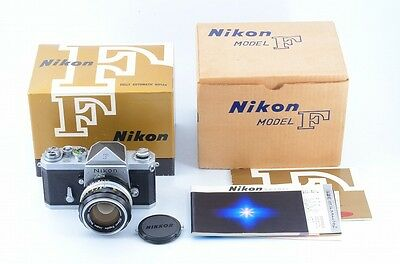 Nikon F Body With Nikkor-s Auto 50mm F/1.4 Very Good Condition #55336