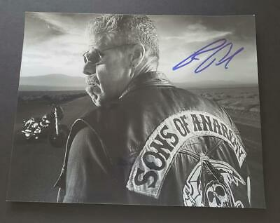 Ron Perlman Hand Signed Photo (sons Of Anarchy)