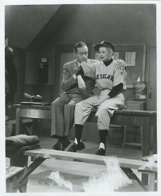 Lucille Ball In Baseball Outfit And Bob Hope, Photograph