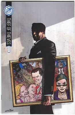 Thief Of Thieves 1 Image 2015 Nm+ 9.6 Skybound 5th Anniversary Variant Sdcc