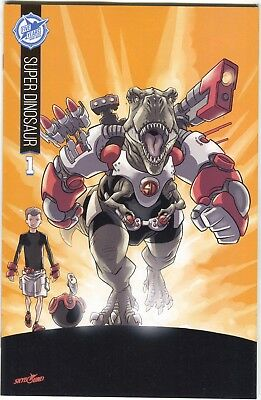 Super Dinosaur 1 Image 2015 Nm Skybound 5th Anniversary Variant Sdcc