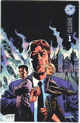Ghosted 1 Image 2015 Nm+ 9.6 Skybound 5th Anniversary Variant Sdcc