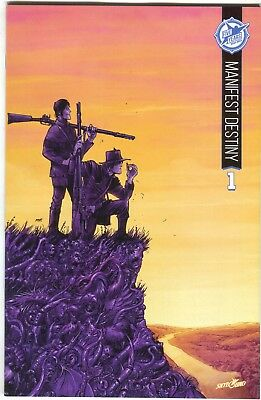 Manifest Destiny 1 Image 2015 Nm+ 9.6 Skybound 5th Anniversary Variant Sdcc