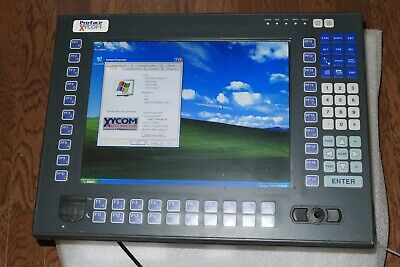 Pro-face Xycom 4615-kpmt Industrial Pc Color Touch/keypad, Very Nice Used Tested