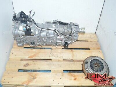 Jdm Ty751sdzda Forester Sj5 6mt & Clutch Assembly, Fb20a Compatible Wrx Trans.