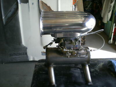 1931 Cadillac V8 Rat Rod Stainless Steel Manifold & Carb