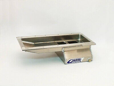 13-274a Canton Racing Products 13-274a Aluminum Drag Race Oil Pan