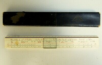 Rare Drp Albert Nestler Chemiker N. 33 Zeitner Slide Rule In Box