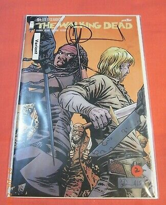 The Walking Dead #154 - Lead To Slaughter -  Signed With Coa (2003 Series)