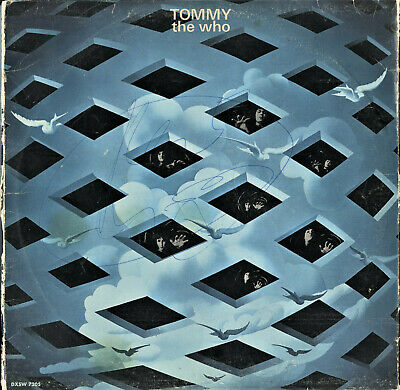 Extremely Rare Keith Moon Hand Signed Tommy Vinyl Record By The Who