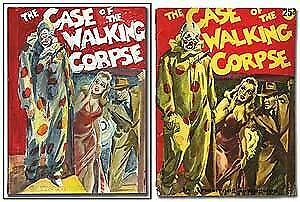 Armstrong Glenn Cravath / Case Of The Walking Corpse With The Original Cover 1st