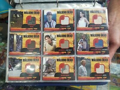 Walking Dead Season 1 - Cryptozoic - Autograph And Costume Cards