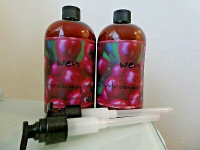 2 Wen Cleansing Conditioner Winter Cranberry Mint 16 Oz Pump Free Priority Ship