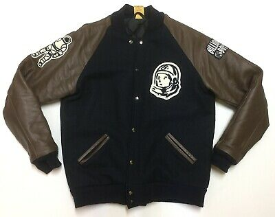 Rare Billionaire Boys Club Astronaut Jacket Varsity Mmxiii Virgin Wool Leather