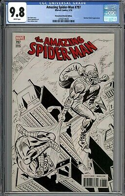 Amazing Spider-man #797 Rare 1:1000 Remastered Ross Andru Sketch Variant Cgc 9.8