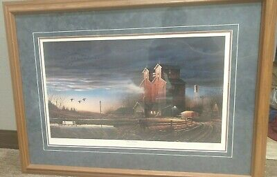 Prairie Morning Terry Redlin Framed Signed Limited Edition Print