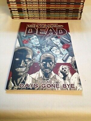 The Walking Dead Comic Volumes 1-17 - #1 Signed By Both Rober Kirkman Tony Moore