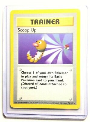 SCOOP UP - 78/102 - SHADOWLESS Base Set - Pokemon Card - EXC / NM