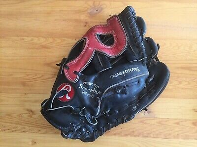 "Rawlings Sg 33 "" Premium Series "" R "" Web Baseball Softball Glove Right Throw"