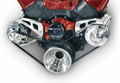 March Performance Aluminum Big Block Chevy Serpentine Pulley Kit P/n 23006