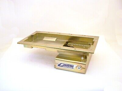 Canton Racing Products 15-738 Front Sump T Style Road Race Oil Pan