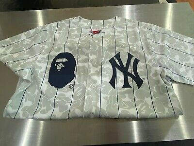 Bape New York Yankee Jersey Mitchell N Ness Collection (size Large)