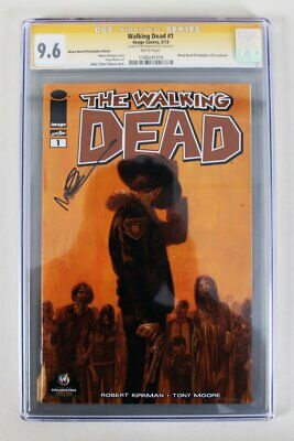 The Walking Dead #1 Signed Graded Comic Book – Cgc 9.6