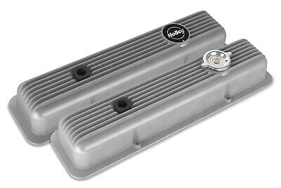 Holley 241-134 Muscle Valve Cover Set Small Block Chevy 58-86 W/perimeter Bolts