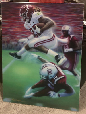 "Framed Canvas: ""the Hurdle"" By Daniel Moore - 15% Preorder Discount - Alabama!"