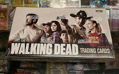 Walking Dead Season 1 & 3 Sealed Hobby & Retail Boxes - Rare!!