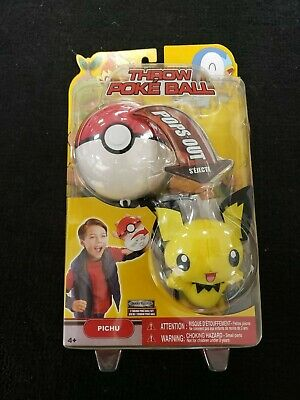 Rare! Pokemon Throw Pokeball Heartgold Soulsilver Series 14 Pichu In Box Jakks