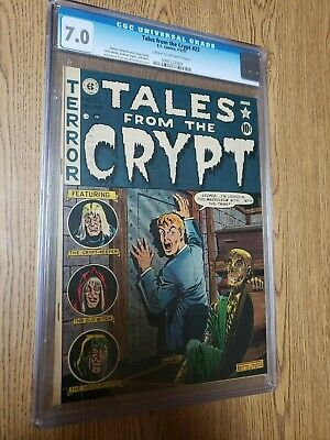 """Ec Comics Tales From The Crypt 23, Cgc 7.0  Pre-code Horror """"the Big Book"""""""