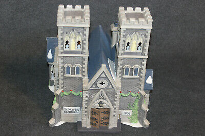 Dickens Village Dept 56 Cathedral Church Of St Mark Le#2092 Heritage Collection