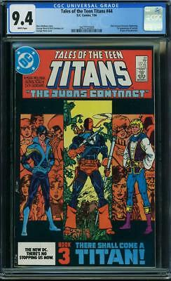 Tales Of The Teen Titans #44 Cgc 9.4 1st Nightwing (dick Grayson)!