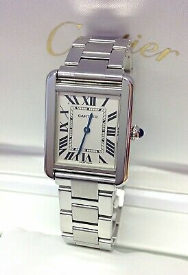 Cartier Tank Solo W5200013 Small Model Box And Paperwork 2013