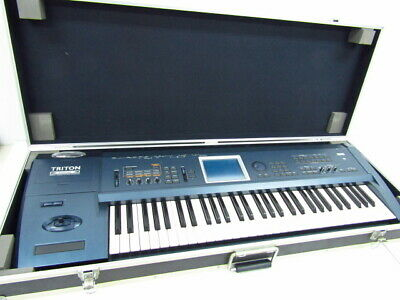 Korg Comes With  Triton Extreme Synthesizer Hard Case ♪ G 2879 From Japan