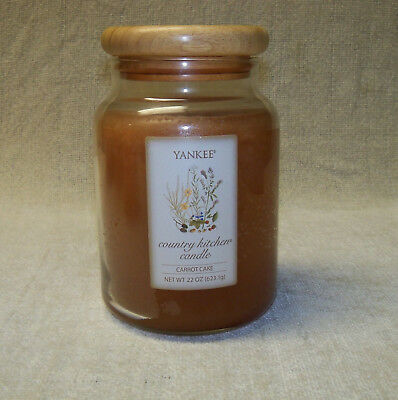 Yankee Candle Country Kitchen ~carrot Cake~ Candle 22 Oz  Vhtf 1980
