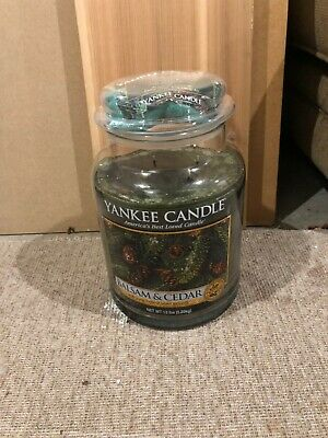 Yankee King Candle Balsam Cedar 13lb 2013 Limited Edition Collectors Vhtf