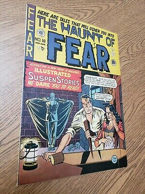 Ec Comics, Haunt Of Fear 16 (2) First Old Witch 5.5   Pre-code Horror
