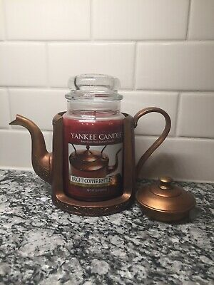New Yankee Candle Bright Copper Kettles Candle Holder Set My Favorite Thi