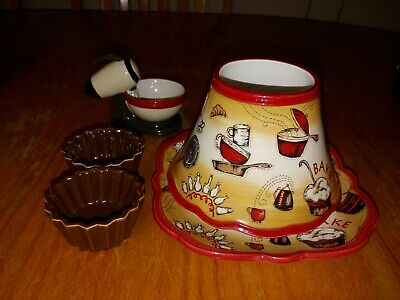 Yankee Candle 2012 J/s Baking P2 And C/p Baking P2 With 2 Cupcakes And Mixer P2