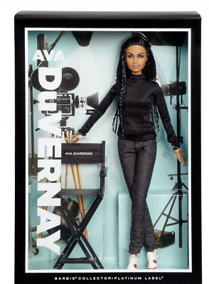 Director Ava Duvernay Barbie Doll - Platinum Series Label
