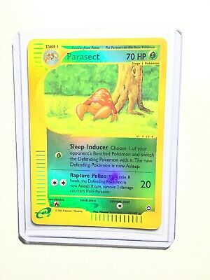 PARASECT - 27/147 - Aquapolis - Reverse Holo - Pokemon Card - NM