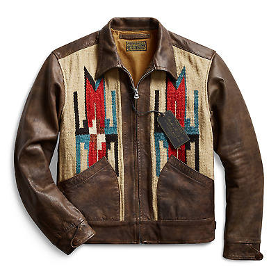 Rrl Double Rl Ralph Lauren Limited-edition Southwestern Jacket - M Bnwt Sold Out