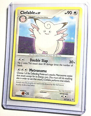 CLEFABLE - 22/130 - Diamond & Pearl - Rare - Pokemon Card - NM