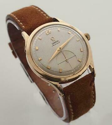 Omega Seamaster Art Deco Lugs Yellow Gold Very Rare Find Ref; 2581